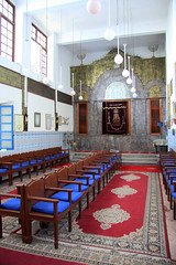 Synagogue, Marrakesh, Morocco (sensaos) Tags: africa travel building religious worship north synagogue du morocco marrakech jewish afrika marrakesh marokko nord afrique noord