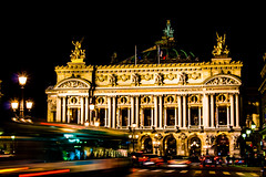 OPERA (DESAMY) Tags: street paris france color colour love beautiful architecture night canon buildings amazing kiss nightshot top capital sightseeing best awsome saturation stunning pro desiree streetphoto foreign asphalt effect technique nocturne retouched masterpiece streetshot yvan foreigner brillant x6 t4i desamy syreetphotography cityiflove dsamy