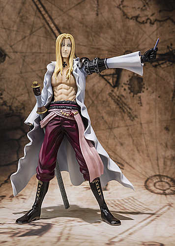 One Piece Figuarts ZERO X.德雷克 和 巴吉魯·霍金斯