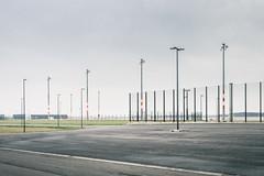 Eingezunt (96dpi) Tags: berlin modern airport empty leer baustelle infrastruktur ber