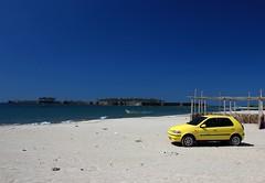 Fiat Palio on the Beach, Tarkarli, Malvan