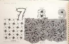 Tangle-A-Day Calendar (ZChrissie) Tags: photostream