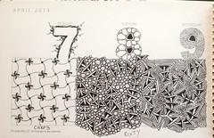 Tangle-A-Day Calendar (ZChrissieCZT) Tags: photostream