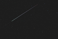 ISS with a Dragon's tail (zAmb0ni) Tags: sky station night big dragon space international astrophotography astronomy iss module dipper