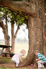 Egg Hunt (natestation2) Tags: park pink tree oklahoma kids canon easter children table happy eos is picnic egg l f4 hunt 6d 70200mm