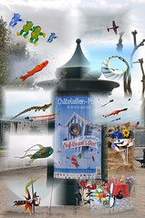 cerf - volant 2014 (karinepepin17) Tags: montage littoral charentemaritime chatelaillonplage frontdemer certvolant promenage festivite 21efestivalducerfvolant