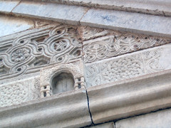 Middle Byzantine spolia, Church of the Dormition, Kastanochori (diffendale) Tags: sculpture church greek village decoration iglesia kirche chapel knot carving medieval architectural relief chiesa greece grecia griechenland glise grce byzantine yunan fragment reuse knotwork greco grecque 1895 griego yunanistan griechisch spolia ecclesia       kastanochori 19thcce kastanochorion