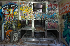 (Scuffles33) Tags: nyc urban abandoned hospital graffiti li medical urbanexploration kingspark asylum psychiatric morgue kppc