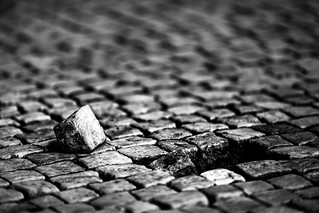 Another brick on the ground