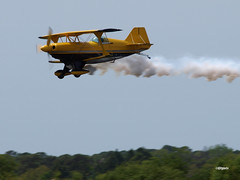 160403_11_MEL_N99MF (AgentADQ) Tags: show plane airplane florida aviation air melbourne jim bulldog special leroy aerobatics stuntplane pitts 2016 s2b