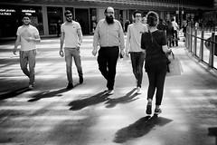 Paris (Bo Hvidt) Tags: street blackandwhite bw paris monochrome blackwhite streetphotography nik forumdeshalles silverefex bohvidt leshallesdeparis nikcollection x100t fujifilmx100t