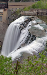 Lower Falls....Rochester (+David+) Tags: waterfall lowerfalls rochesterny geneseeriver