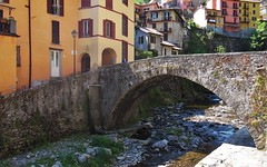 Arch Bridge - Argegno - Lake Como Italy (Gilli8888) Tags: bridge windows italy lake architecture buildings river rocks doors arch arches lakecomo lombardia lombardy archbridge argegno