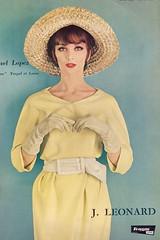 Raphael Lopez 1961 (barbiescanner) Tags: vintage 60s retro 1961 vintagefashion 60sfashion frenchfashion raphaellopez vintagefashionmagazines lartetlamode vintagefrenchfashion