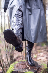 5DA06477_RSG_Klepper_zweireihig_kl (helani44) Tags: outdoor gummistiefel kleppermantel gummimantel gummhandschuhe milttrmantel