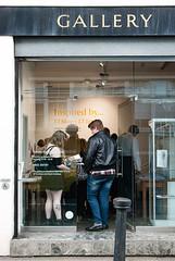 The queue (jonnydredge) Tags: london nikon exhibitions va textiles pv morley privateview inspiredby arttextiles morleygallery moderneccentrics