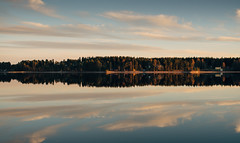 (DrowsyPotato) Tags: sky reflection nature water clouds forest canon river landscape 50mm sweden sony swedish mm usm 500 scandinavia jmtland 320 norrland 1125 swe 50l mirrorless 80 a7rii a7r2 ilce7rm2