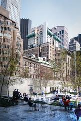 Midtown from Moma (Chicago_Tim) Tags: new york city nyc newyorkcity urban newyork moma museumofmodernart midtown patio