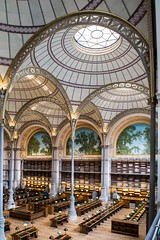 La salle Labrouste depuis la deuxime galerie, avril 2016,  Jean-Christophe Ballot BnF/INHA/OPPIC (Library ABB 2013) Tags: paris france architecture nationallibraryoffrance bibliothquenationaledefrance 2016