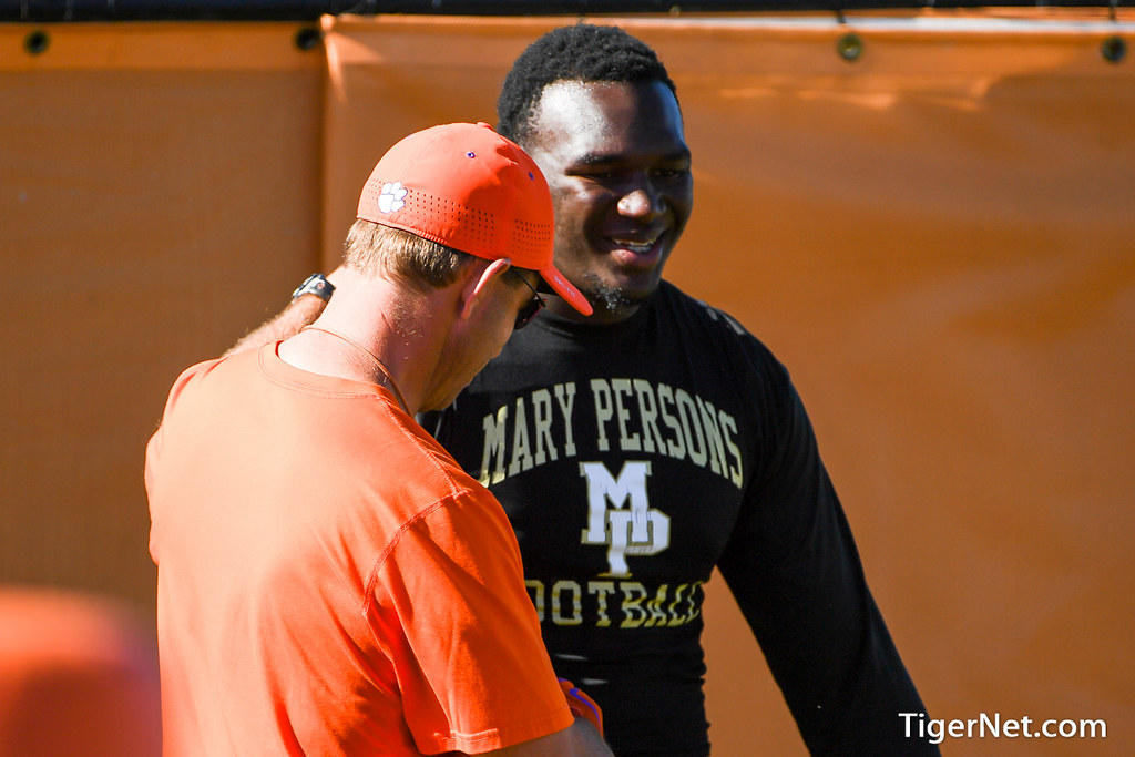 Clemson Photos: Malik  Herring, 2016, Recruiting