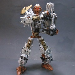 Yeiru, Toa of Iron (Super Pikmin) Tags: iron bionicle toa mocpages yeiru