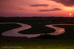 Meandering (judethedude73) Tags: park sunset sky haven english nature sisters river downs sussex skies dusk south estuary east national seven valley channel cuckmere