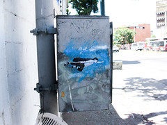 Mini super boy (D11 Urbano) Tags: boy art girl poster stencil arte venezuela nios caracas urbano venezolano arteurbano d11 streetartvenezuela artvenezuela d11streetart arteurbanovenezuela d11art d11urbano
