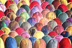 paints&spoons (*Chris van Dolleweerd*) Tags: abstract studio 50mm paint plastic spoons strobist chrisvandolleweerd