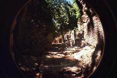 Roman ruins at Olympos (kitty b wonderful) Tags: 2 film lomo ancient ruins roman fisheye analogue olympos olimpos