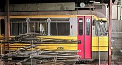 Rust Roest... (Peter ( phonepics only) Eijkman) Tags: city holland netherlands amsterdam transport nederland tram rail rails trams ema strassenbahn noordholland gvb streetcars nederlandse 7g reflectionsofthepast elektroon