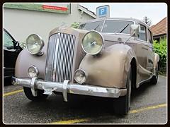Austin A125s Sheerline (1947-54) (v8dub) Tags: auto old classic car austin schweiz switzerland automobile suisse s automotive voiture oldtimer british fribourg oldcar freiburg collector 125 wagen pkw klassik sheerline a worldcars