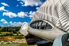 Pabellón puente 3 (.MiguelPU) Tags: sky españa cloud color colour water rio azul spain agua nikon colours expo colores zaragoza cielo nubes ebro 2008 aire libre saragosa d5200