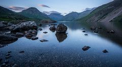 Wast Water, The Lake District (Firthy70) Tags: uk longexposure cloud mountains reflection water digital landscape countryside nikon rocks lakedistrict cumbria wastwater leefilter d7100