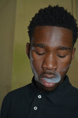 'French Inhale' (miranda.valenti12) Tags: portrait color face french high weed jay expression smoke smoking smokey hazy facial feature exhale inhale hundoo