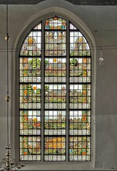 Broek en Waterland Stained Glass (joiseyshowaa) Tags: en holland history church window glass amsterdam saint st north sint stained nicholas nicolas kerk waterland renovated broek nicolaaskerk netherelands kerkplain