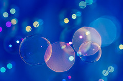 Bubbles (amarilloladi) Tags: color macro water bokeh bubbles hmm macromondays