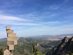 Montserrat (gracefaceee) Tags: barcelona sculpture bcn montserrat