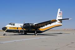 63-9765 C-7B Caribou - Stored - Edwards AFB, CA (David Skeggs) Tags: aircraft military aeroplane edwards caribou usarmy usar c7 goldenknights flighttest davidskeggs
