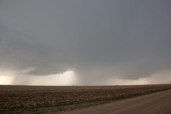 Dueling bases (ianseanlivingston) Tags: kansas supercell thunderstorm supercells weather stormchasing