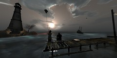 Gone fishing (soulstotheabyss) Tags: vacation fishing rr kites secondlife gonefishing everwinter secondlifeseas secondlifeamusement