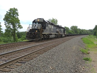 Norfolk Southern B09 / westbound at MP 474