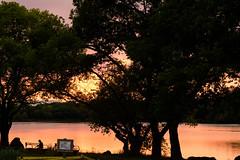 49Yamada Pond Park (anglo10) Tags: sunset japan