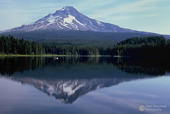 Mt Hood on Film.jpg (Dan Sherman) Tags: mthood hood lake mountain reflection forest alpine fishing mounthood trilliumlake mthoodnationalforest green blue oregon pacificnorthwest trees summer cascademountains pnw mountainlake nationalforest film
