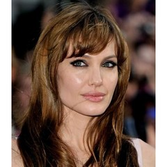 Celebrity Angelina ' s long Hairstyle Remy Human Hair Custom (MUMUyangYUN) Tags: beauty fashion hair angelinajolie wigs hairstyle lacewigs fulllacewigs celebritywigs celebritylacewigs