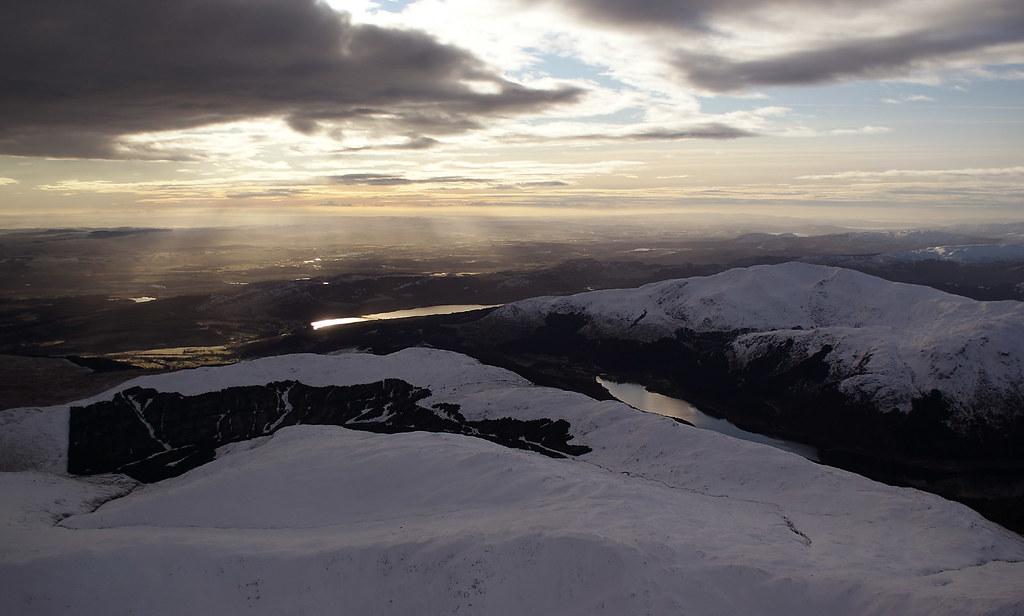 Loch Lubnaig, Ben Ledi and Loch Venachar
