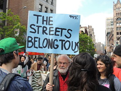 Occupy Wall Street  - May 1, 2012 (SHOTbySUSAN) Tags: nyc newyorkcity ny manhattan 99 unionsquare 99percent ows shotbysusan occupywallstreet thestreetsbelongtous