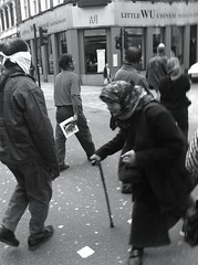 Struggling (barrykhan) Tags: cameraphone london 35mm streetphotography popa 2012 iphone londonstreetphotography mrkhan iphone4 shotwithaniphone ukstreetphotography iphoneography barrykhan mobileonly mrkhanphotography
