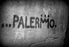 Graffiti # Palermo (henrichinaski) Tags: blackandwhite graffiti analogue palermo