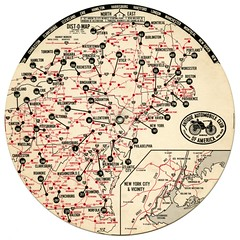 Dist-O-Map North East (Alan Mays) Tags: old newyorkcity ohio red usa white ny newyork black cars vintage ads advertising virginia dc newjersey districtofcolumbia vermont texas unitedstates pennsylvania circles connecticut tx massachusetts maps wheels maine cities newhampshire charts ephemera tex pa rhodeisland westvirginia round highways clubs states 1960s autos roads advertisements northeast information logos harrisburg automobiles fortworth circular groups printers 1964 distances disks northeastern publishers destinations associations aaca societies duryea organizations dauphincounty antiqueautomobileclubofamerica volvelles distomap mileages plumly antiqueautomobileclub wheelcharts plumlymfgcorp