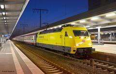 101 013-1 Werbelok Documenta (vsoe) Tags: station train germany deutschland ic essen eisenbahn railway zug bahnhof db 101 bahn öbb documenta adtranz fernverkehr werbelok
